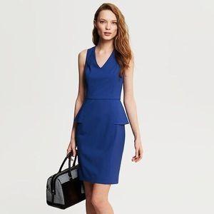 Banana Republic blue sheath dress